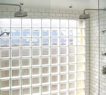 Moderne Räume mit Glasbaustein - 20 originelle Designs