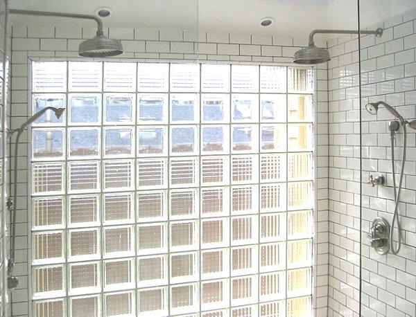 Glasbausteine Dusche moderne räume mit glasbaustein 20 originelle designs