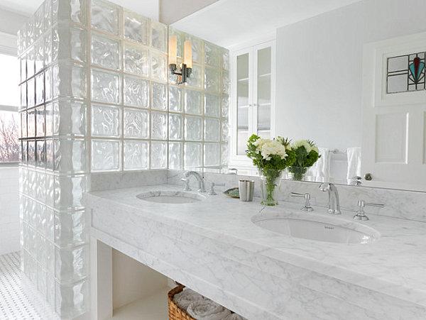 Glasbausteine Im Bad moderne räume mit glasbaustein 20 originelle designs