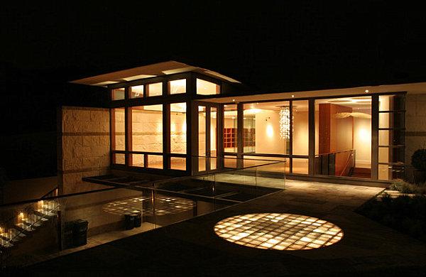 moderne r ume mit glasbaustein 20 originelle designs. Black Bedroom Furniture Sets. Home Design Ideas