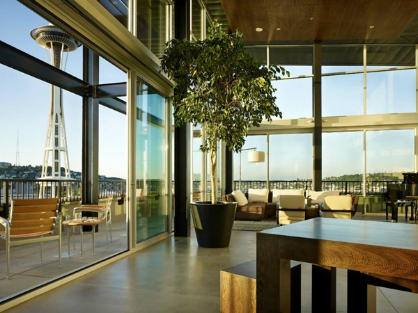 Gartenmobel Rattan Runder Tisch : Nachhaltige Architektur Was macht ein Gebäude grün?