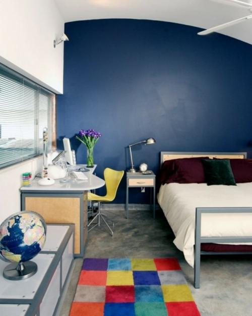 Neues bett im schlafzimmer drei fehler beim einkauf - Schlafzimmer dunkelblau ...