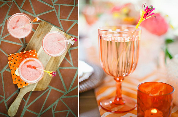 Party Bilder gläser bunt getränke frisch früchte