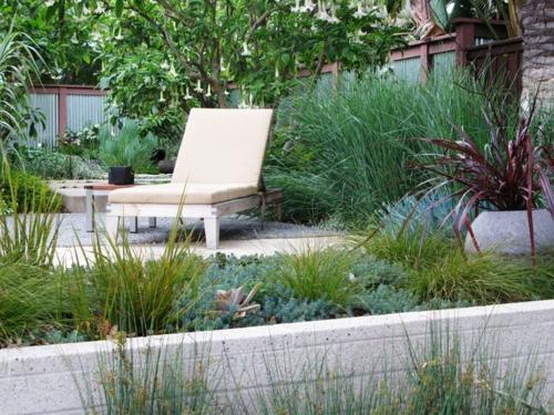 Schöne Gartengestaltung und Landschaftsbau liege auflagen