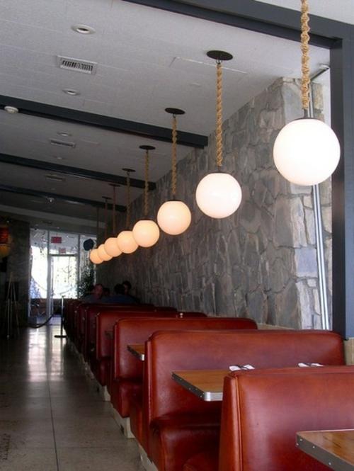Seil Dekoration passt zu jedem Raum hängende lampen