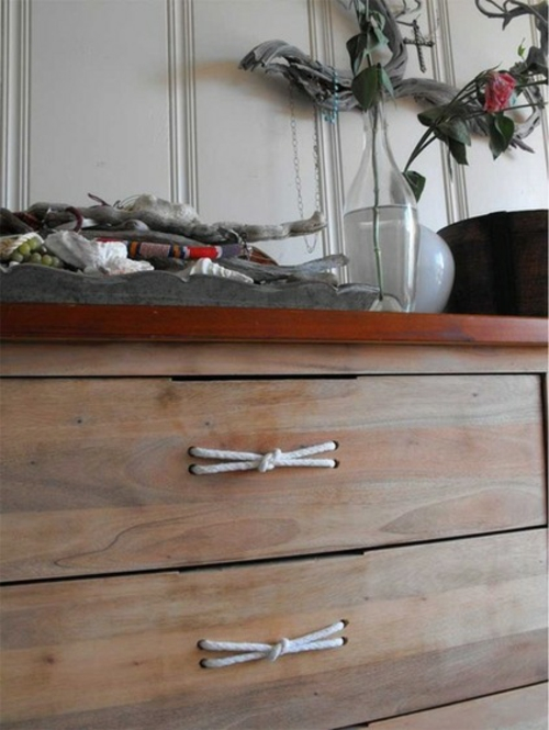 Seil Dekoration passt zu jedem Raum schubladen rustikal