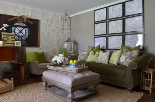 Dark Grey Sofas And Paint Color