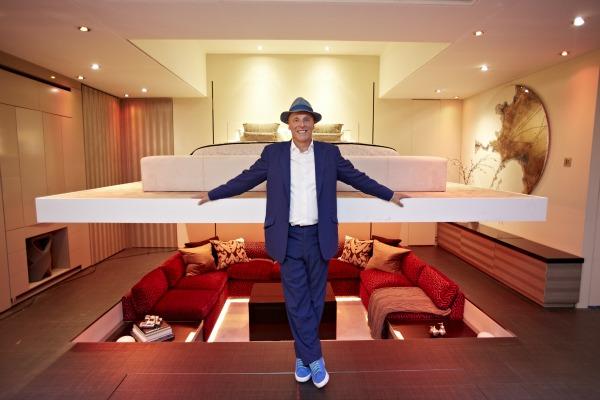 Simon Woodroffe ein Yo!Home Apartment