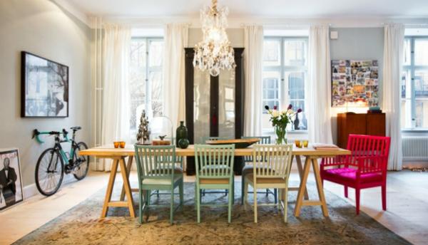 Kettler Gartenmobel Test : Skandinavisches Interior Design mit bunten Touches schäbig und