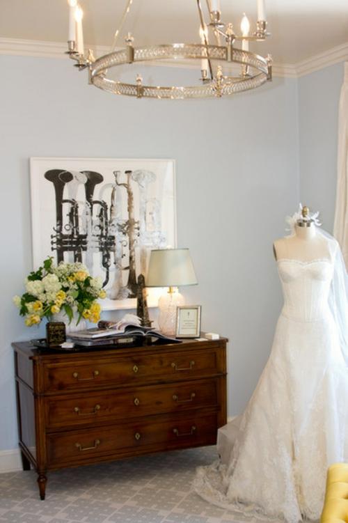 Souvenirs ihrer Hochzeit papier herz nette kleid