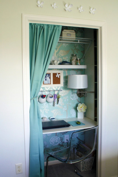 raumsparende tipps f r ihr kleines homeoffice. Black Bedroom Furniture Sets. Home Design Ideas