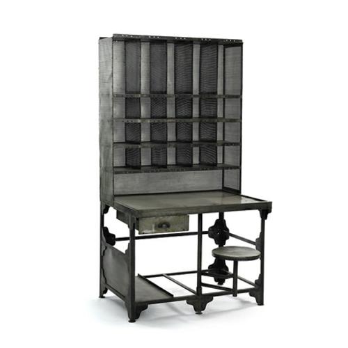 Vintage Schreibtische in Ihrem Homeoffice Büro metall industriell