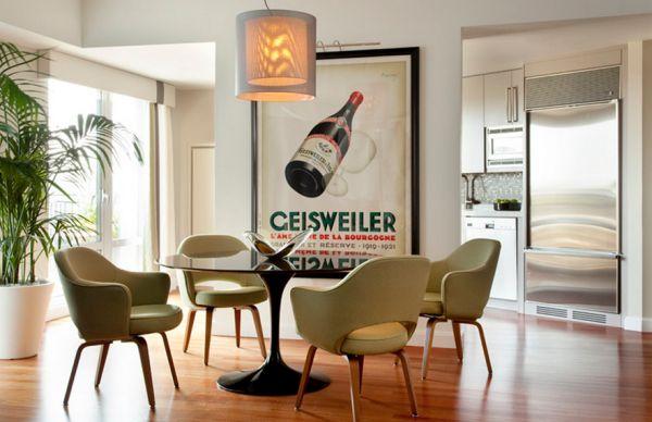 Posters In Interieur : Wanddekoration mit plakaten eine vintage atmosphäre im trendy haus