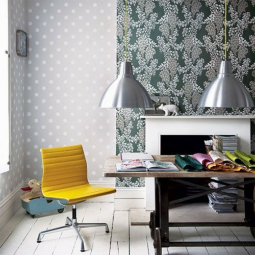 Wanddekoration Mit Bunten Punkten Upftes Design