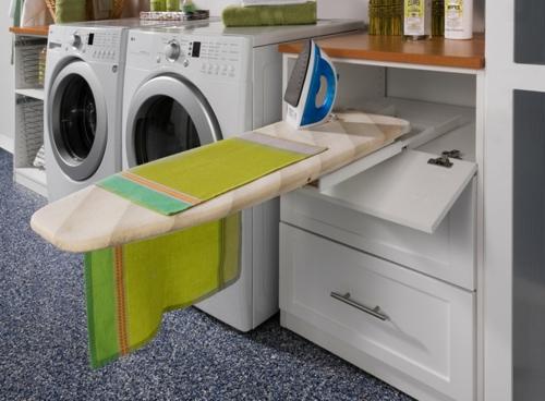 Waschbecken f r die waschk che tipps zur einrichtung des - Agencement cellier buanderie ...
