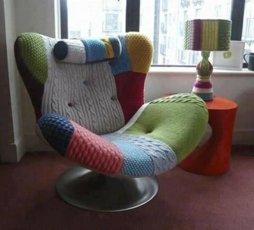 Viel Warme Zu Hause Durch Die Benutzung Von Wolle Im Interior Design