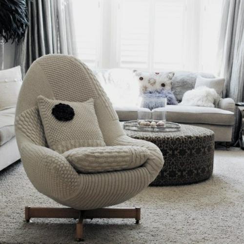 viel w rme zu hause durch die benutzung von wolle im interior design. Black Bedroom Furniture Sets. Home Design Ideas