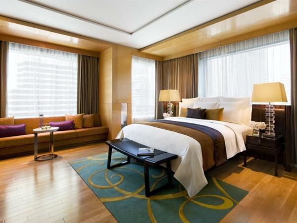 attraktives gästezimmer design geräumig und hell