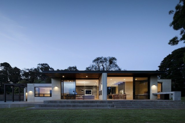Australisches Haus Design - durch die Natur bestimmt und dynamisch