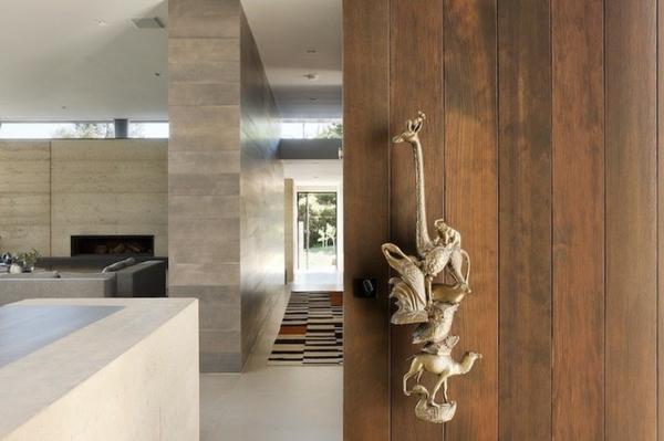australisches haus design einzigartiger türgriff mit tier ornamenten