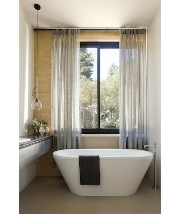 australisches haus design schlichte freistehende badewanne aus weißer keramik