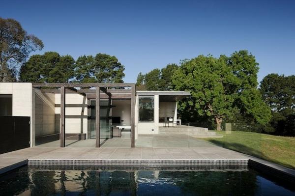 Australisches haus design   durch die natur bestimmt und dynamisch