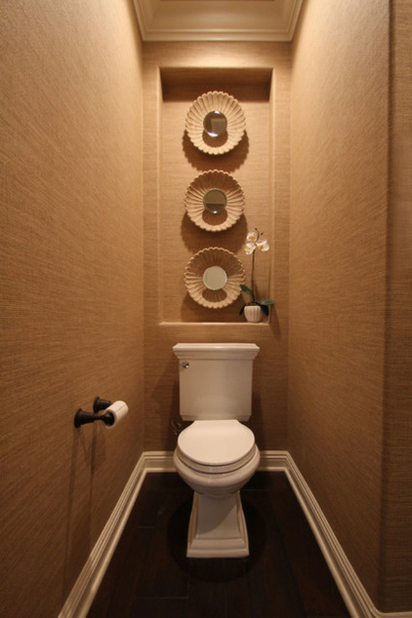 Badezimmer renovierung wohin mit der toilette for Wc deko