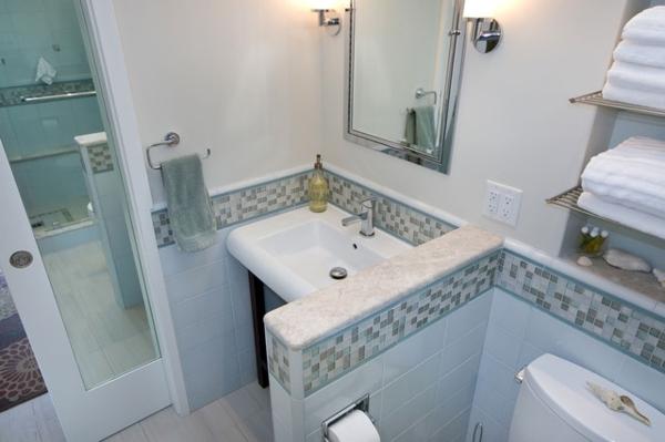 badezimmer renovierung spiegel schiebetür