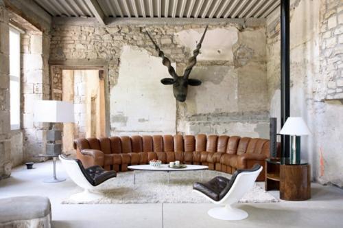 30 coole Grunge Interior Designs - eigenartige Inneneinrichtung