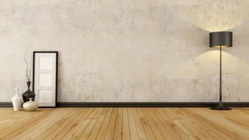 coole Grunge Interior Designs schlafzimmer leerraum klare linien