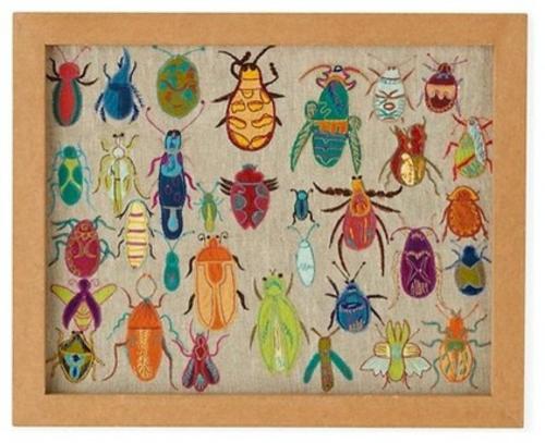 coole accessoires käfer buntes bild
