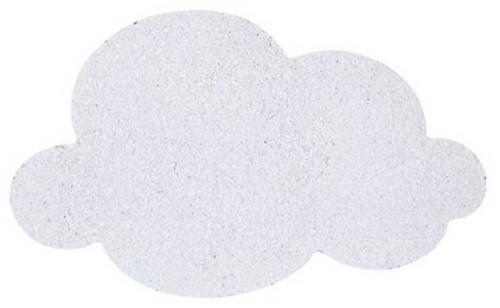 coole accessoires wolke korktafel in weiß