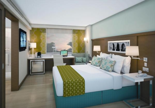 das private gästezimmer neu gestalten grün akzent lösungen