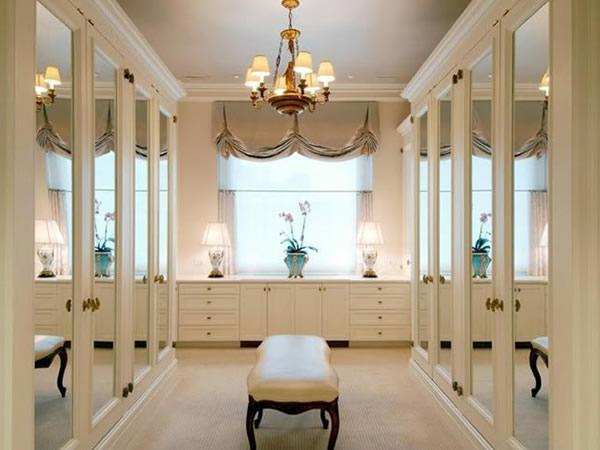 den kleiderschrank organisieren barockstil spiegelschränke