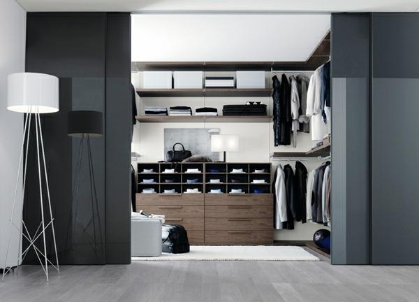 den kleiderschrank intelligent organisieren elegante kommode viele regale
