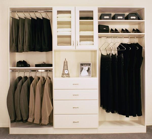 den kleiderschrank organisieren klassisch elegant
