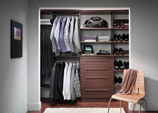 den kleiderschrank organisieren lässig und cool