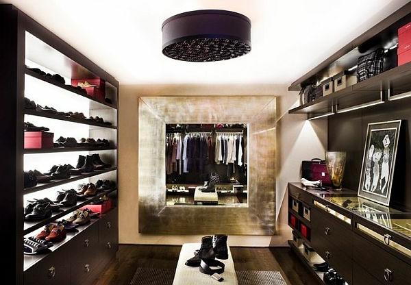 den kleiderschrank intelligent organisieren modernes design offene regale