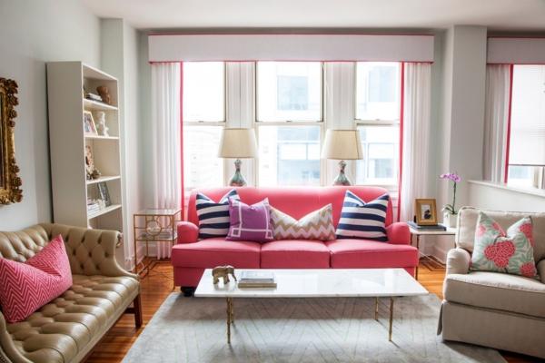 den perfekten stil für ihre einrichtung süße farben pink lila und cappuccino