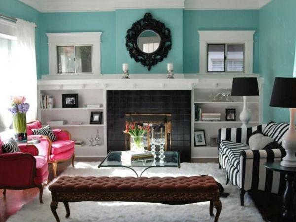 den perfekten stil für ihre einrichtung finden- 10 praktische tipps - Trkise Wand