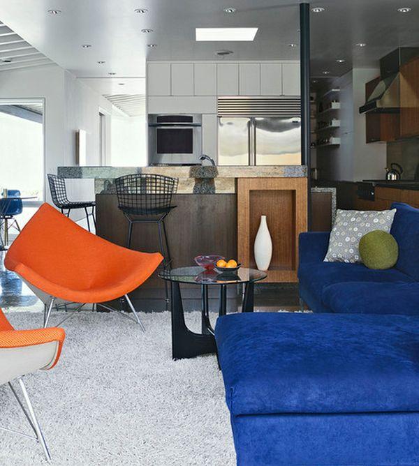 designer coconut stuhl samtige marinebaue sofa und hocker