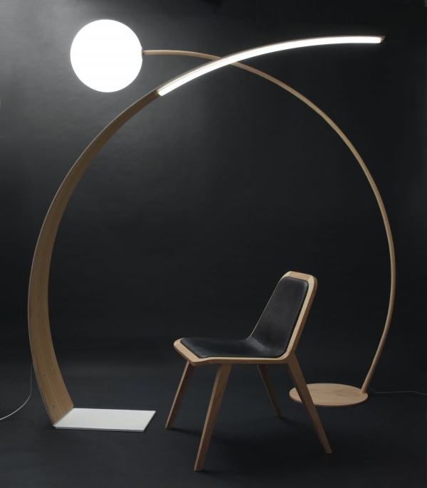 die moderne stehleuchte 40 bilder und designs speziell f r sie. Black Bedroom Furniture Sets. Home Design Ideas