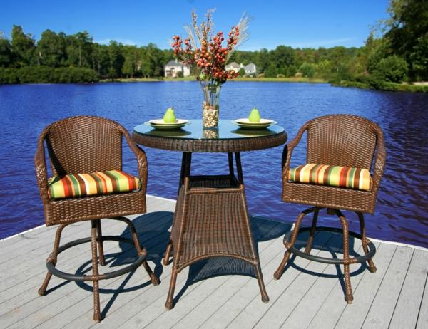 die perfekten outdoor möbel am see antiken stil