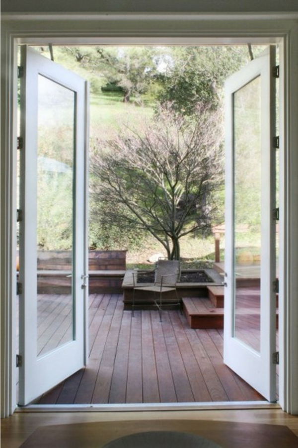 Die richtige glast r f r ihre veranda finden for High end french doors