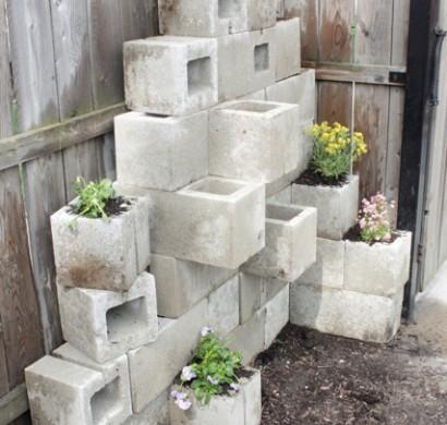 diy blument pfe aus beton 12 tolle projekte f r anbauer. Black Bedroom Furniture Sets. Home Design Ideas
