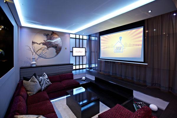 ein Yo!Home Apartment sofas bildschirm dekoration wand