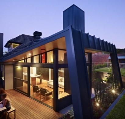 Ein Moderner Anbau Innovative Gebaudeerweiterung In Melbourne
