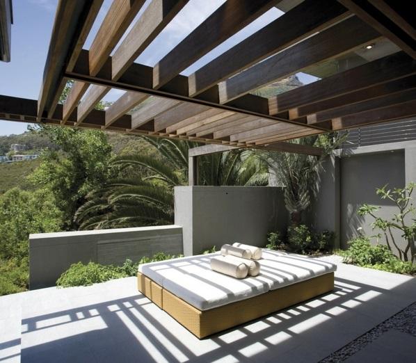 Eine moderne Luxus Residenz in Cape Town mit tollem Ozean Blick