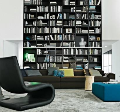 elegante wohnwand ideen gestalten sie ihre wohnzimmer. Black Bedroom Furniture Sets. Home Design Ideas