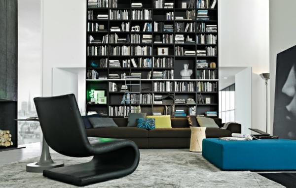 elegante wohnwand ideen gestalten sie ihre wohnzimmer mit stil. Black Bedroom Furniture Sets. Home Design Ideas